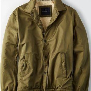american eagle jacket sherpa Men
